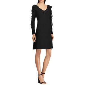 American Living Black -Ruffle Dress